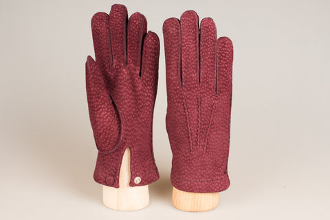 Hestra Unlined Glove - Bordeaux Carpincho