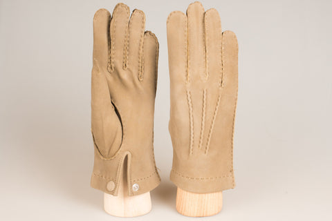 Hestra Unlined Glove - Taupe Chamois
