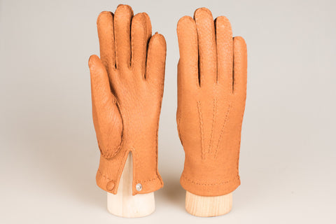 Hestra Unlined Glove - Acorn Peccary