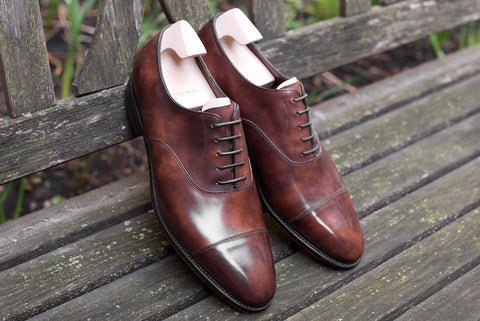 John Lobb City II in Dark Brown Museum Calf