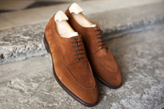 John Lobb Harlyn in Parisian Brown Suede