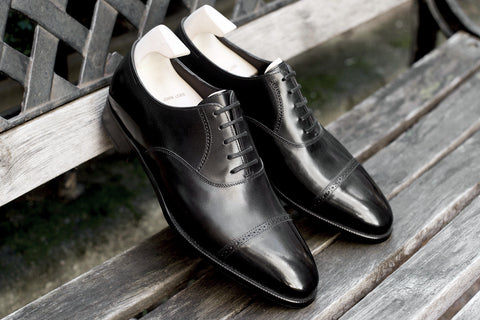 John Lobb Prestige Philip II in Black - Stock Service