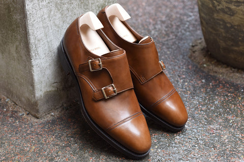 John Lobb William in Parisian Brown Misty Calf