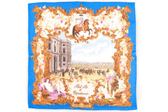 Rubinacci Pocket Square - Capodimonte Blue