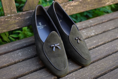 Rubinacci Marphy Loafer - Loden Suede