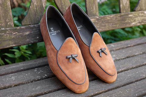 Rubinacci Marphy Loafer - Snuff Suede