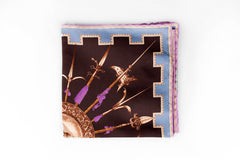 Rubinacci Pocket Square - Armi Chocolate