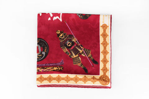 Rubinacci Pocket Square - Samurai Wine