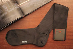Sozzi  Cotton Socks - Charcoal