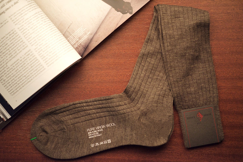 Sozzi Wool Socks - Oatmeal