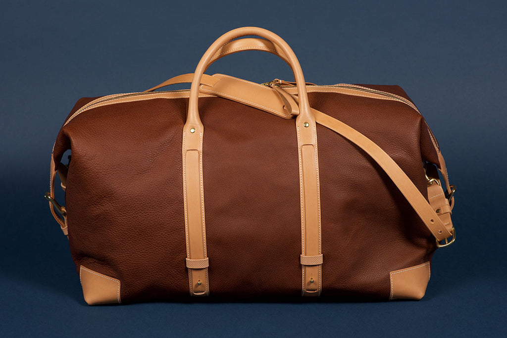 Tärnsjö Garveri Weekender in Natural/Nougat