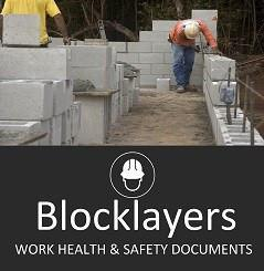 Blocklaying SWMS & Site Safety Documents