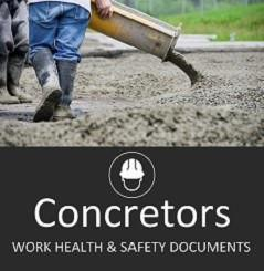 Concreting SWMS & Site Safety Documents