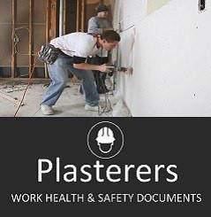 Plastering(plasterboard) SWMS & Site Safety Documents