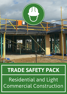 Trade Safety Packs (SWMS, Site Safety Plan, Forms & Checklists)