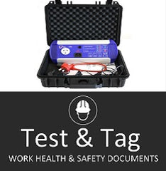 Test & Tag SWMS & Safety Docs