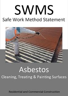 Asbestos - Cleaning, Treating and Painting Surfaces SWMS