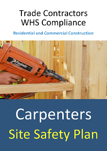 Site Safety Plan - Carpenters - Construction Safety Wise