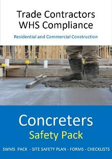 Concreters Safety Pack - Construction Safety Wise