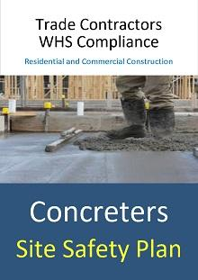 Site Safety Plan - Concreters