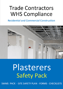 Plasterers Safety Pack - Construction Safety Wise