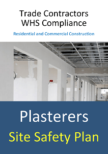 Site Safety Plan - Plasterers - Construction Safety Wise
