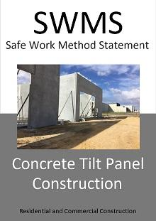 Concrete Tilt Panel Installation SWMS