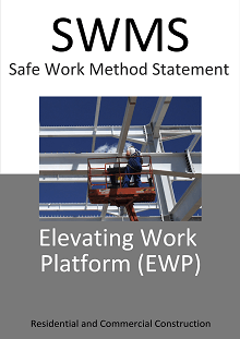 EWP Elevating Work Platform SWMS - Construction Safety Wise