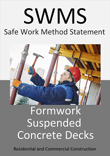 Formwork (suspended slabs) SWMS - Construction Safety Wise