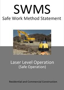 Laser Level Operation SWMS