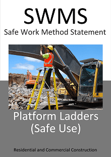 Ladders - Platform Ladders (Safe Use) SWMS