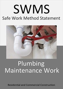 Plumbing Maintenance Work - SWMS