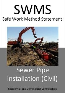 Sewer Pipe Installation (Civil) SWMS