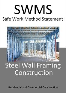 Steel Wall Framing Construction SWMS