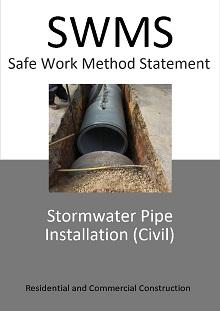 Stormwater Pipe Installation (Civil) SWMS