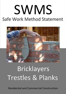 Trestles & Planks - Bricklayers (safe use) SWMS