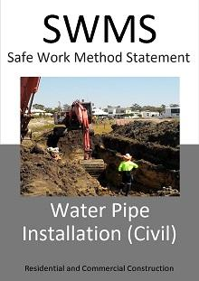 Water Pipe Installation (Civil) SWMS
