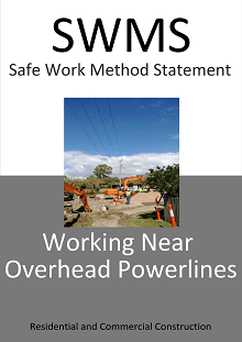 Working Near Overhead Powerlines SWMS - Construction Safety Wise