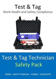 Test & Tag Technician Safety Pack SWMS Safety Plan