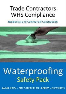 Waterproofing Safety Pack - Construction Safety Wise
