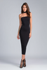 LINDA DRESS IN BLACK - voguish girl