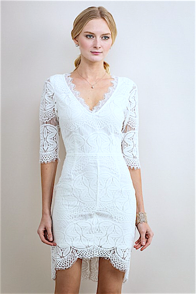 """ABOUT LAST NIGHT"" DRESS IN IVORY - voguish girl"