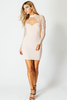 """ALL ABOUT HER"" DRESS IN NUDE - voguish girl"