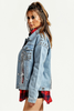 Denim Chain Jacket - voguish girl
