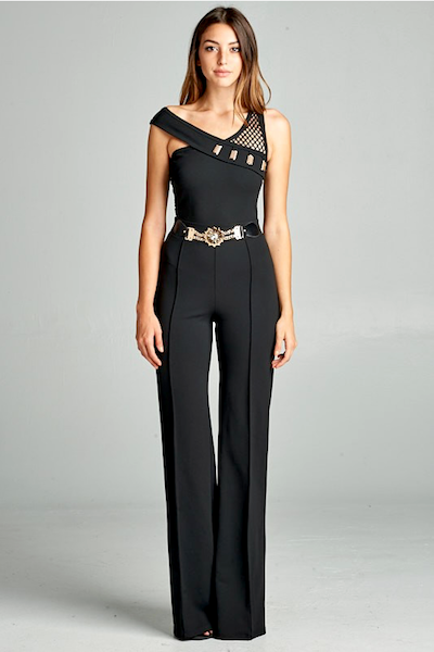 """KENDAL""JUMPSUIT IN BLACK"