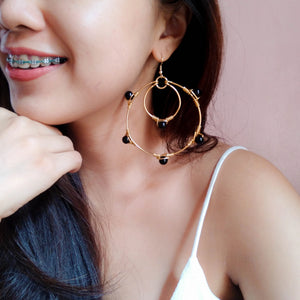 Celestine Hoop Earrings