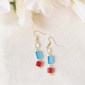 Glass Earrings #3