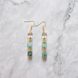 Glass Earrings #14