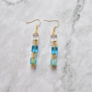 Glass Earrings #16