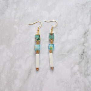Glass Earrings #18